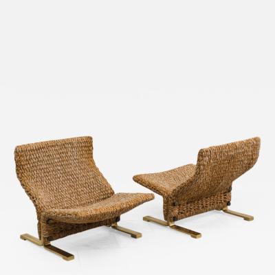 Marzio Cecchi Pair of Lounge Chairs