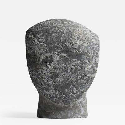 Masanori Sugisaki PHILOSOPHER HEAD 10 Stone sculpture