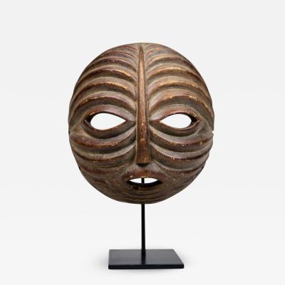 Mask Baluba Gabon West Africa