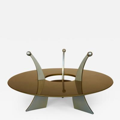 Massimo Morozzi Coffee Table Orchid by Massimo Morozzi Archizoom 1980s Italy