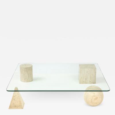 Massimo Vignelli Metafora Italian Coffee Table by Massimo and Lella Vignelli 1979