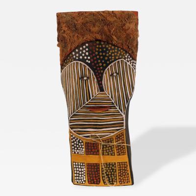 Matha Purantatameri Aboriginal Australia Bima Figure Carving