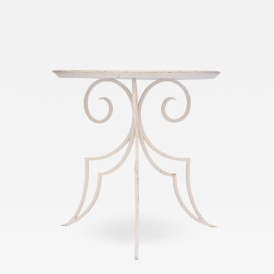 Mathieu Mat got A 1940s French Wrought Iron Side Table