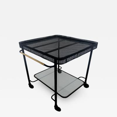 Mathieu Mat got ENAMELED METAL SERVING TABLE BY MATHIEU MAT GOT