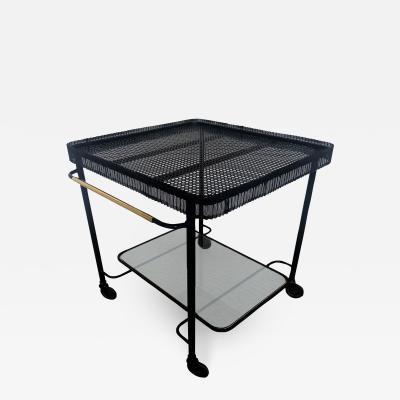 Mathieu Mat got Enameled metal serving table by Mathieu Mat got