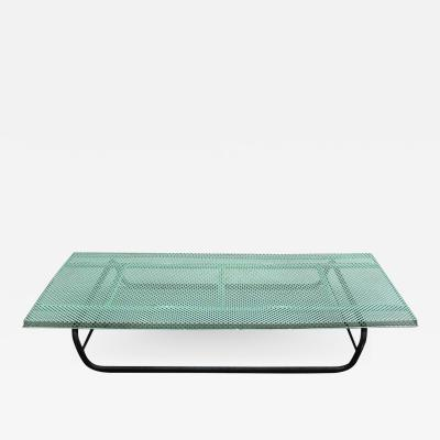 Mathieu Mat got French 1950s Perforated Metal Coffee Table in the Style of Mathieu Mategot