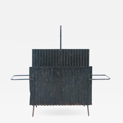 Mathieu Mat got Java Model Portes Revues Magazine Holder In Folded Steel By Mathieu Mat got