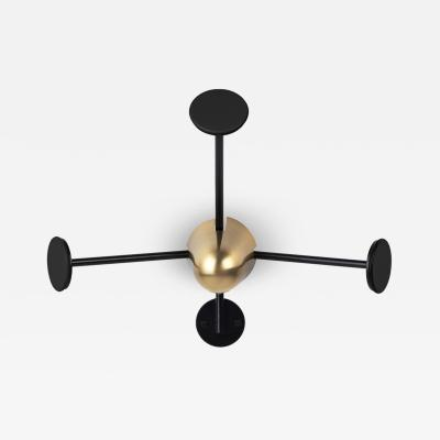 Mathieu Mat got Mathieu Mat got Coat Rack in Brass and Black