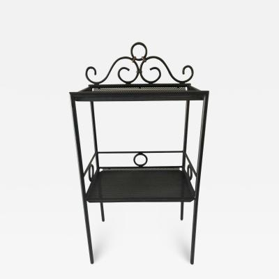 Mathieu Mat got Mathieu Mat got Iron and Bronze Petite Two Tier Stand or Shelf Display