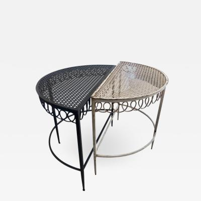 Mathieu Mat got Mathieu Mategot Demilune Coffee Table