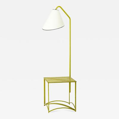 Mathieu Mat got Mathieu Mategot rare floor lamp with coffee table base