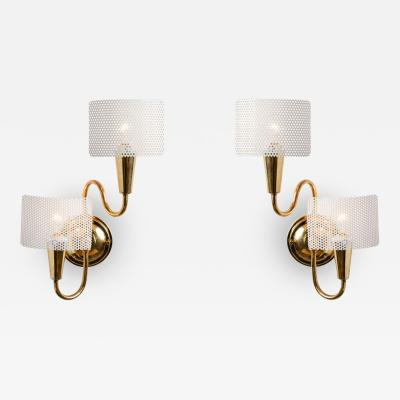 Mathieu Mat got Pair of 1950s French Sculptural Sconces in the style of Mathieu Mat got
