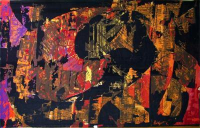 Mathieu Mate got Modernist Abstract Tapestry by Mathieu Mate got