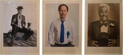 Matt Hoyle Set of Three Portraits of Comedians