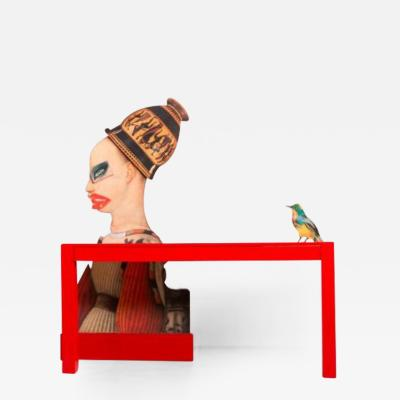 Mattia Biagi A Little Bird Told Me Desk