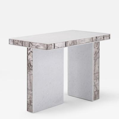 Mattia Bonetti Side Table Quartz Rock Crystal 2014