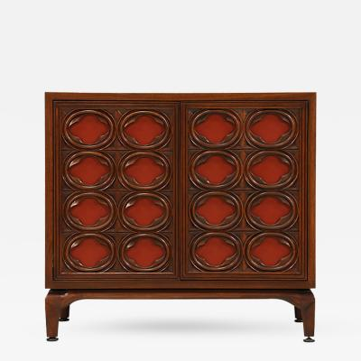 Maurice Bailey Maurice Bailey Cabinet w Leather Front Doors for Monteverdi Young