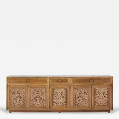Maurice Bailey Monumental Custom Carved Credenza by Maurice Bailey for Monteverdi Young