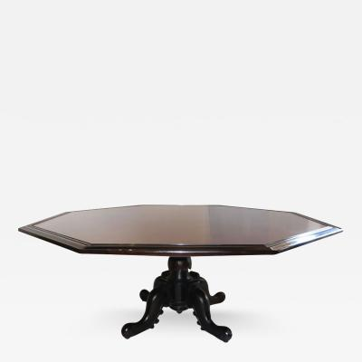 Maurice Bailey Octagonal Dining Table by Maurice Bailey for Monteverdi Young 1960s