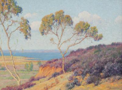 Maurice Braun A View Along the Coast Point Loma Slope