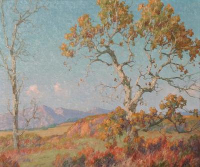 Maurice Braun Southern California Landscape
