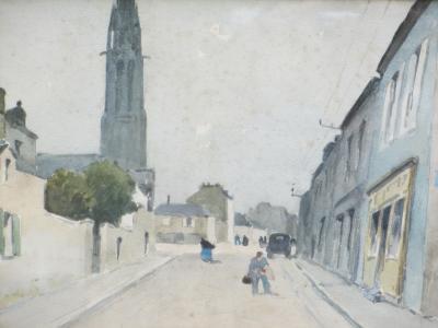 Maurice CAHOURS Rue Anime en Bretagne