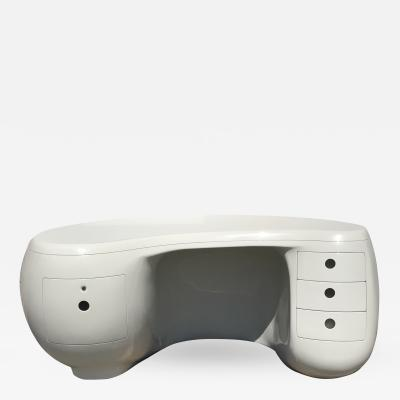 Maurice Calka Boomerang Desk by Maurice Calka for Leleu Deshays