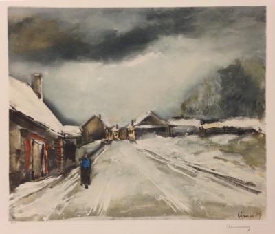 Maurice De Vlaminck LA Route de Beauche