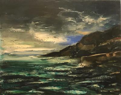 Maurice De Vlaminck Seascape