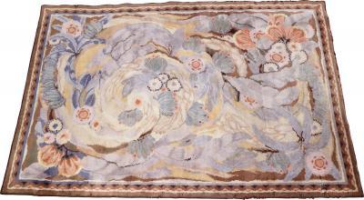 Maurice Dufr ne Maurice Dufrene for La Maitrise art deco rug 1922