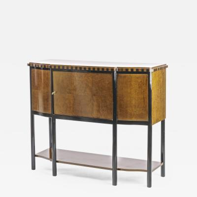 Maurice Dufr ne Maurice Dufrene spectacular early Art Deco refined cabinet