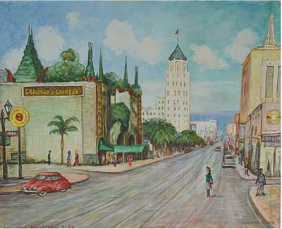 Maurice Green Hollywood Boulevard