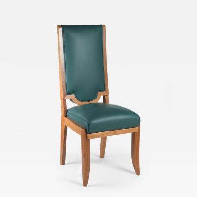 Maurice Jallot Maurice Jallot Set of 8 Dining Chairs