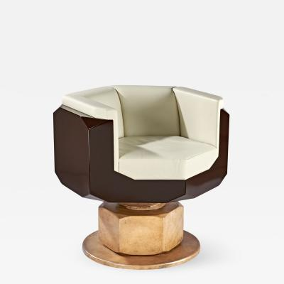 Maurice Marty Fauteuil Boulon Desk Chair