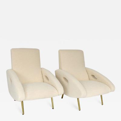 Maurice Mourra Fr res FRENCH LOUNGE CHAIRS BY FRANCOIS LETOURNEUR AND EDITED BY MAURICE MOURRA PARIS