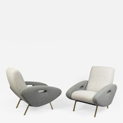 Maurice Mourra Fr res Pair of Armchairs by Maurice Mourra Fr res France 1950s