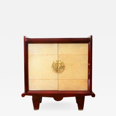 Maurice Rinck Dresser in lacquered wood attributed to Maurice RINCK XXth c
