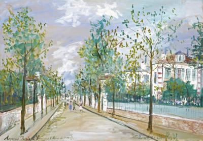 Maurice Utrillo Avenue Roz e Sannois Seine et Oise