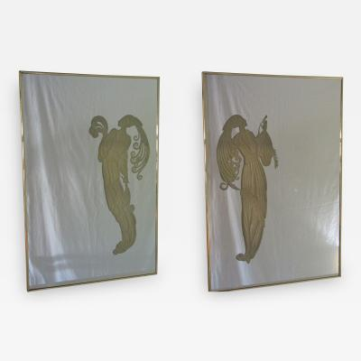 Maurice Villency Pair of Mirrors