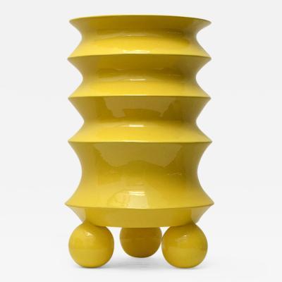 Mauricio Paniagua Yellow Urn