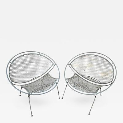 Maurizio Tempestini Iron Hoop Chairs by Maurizio Tempestino for Salterini
