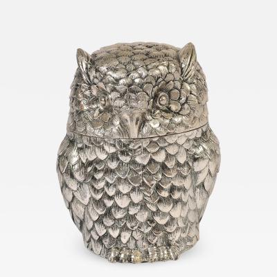 Mauro Manetti Italian 1970s owl by Mauro Manetti
