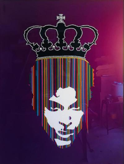 Mauro Oliveira Prince with Rhinestones Crown by Mauro Oliveira