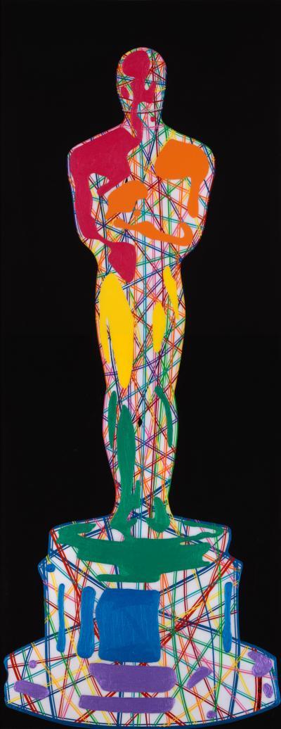 Mauro Oliveira Stylized Rainbow Oscar