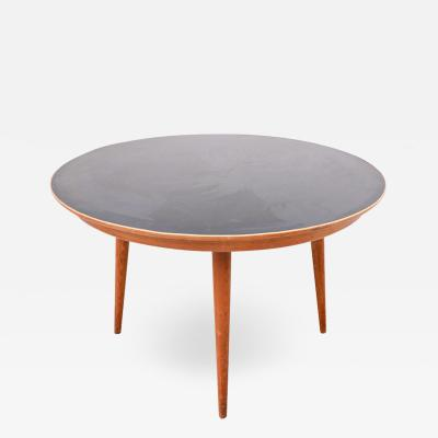 Max Bill Coffee Table Model Dreirundtisch by Max Bill Swiss 1949