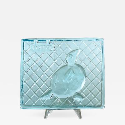 Max Ernst Fucina Degli Angeli Glass Tile Bird
