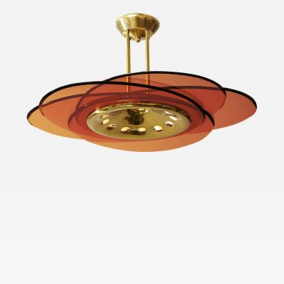 Max Ingrand 12 Light Chandelier by Max Ingrand for Fontana Arte