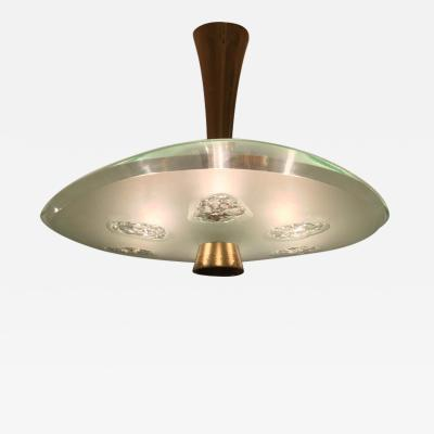 Max Ingrand 1748 Model Ceiling Light by Max Ingrand and Dub for Fontana Arte Italy 1957