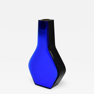 Max Ingrand Blue coloured glass vase
