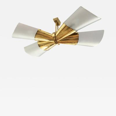 Max Ingrand Bow Chandelier by Max Ingrand for Fontana Arte
